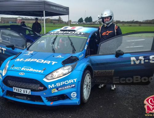 Junior Champions test with M-Sport