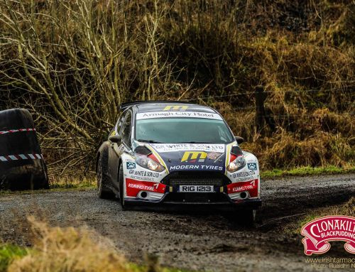 Overnight #ITRC lead for Fisher as rivals struggle