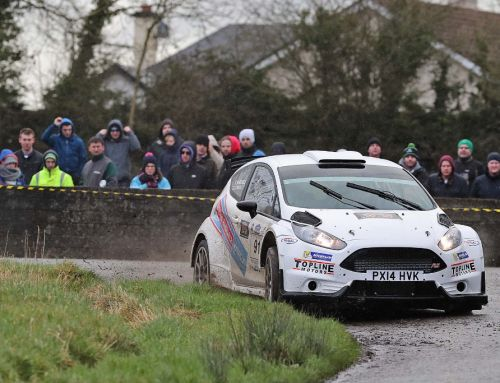 Barrable scores Irish Tarmac Championship Podium in Galway on his first rally for 21 months