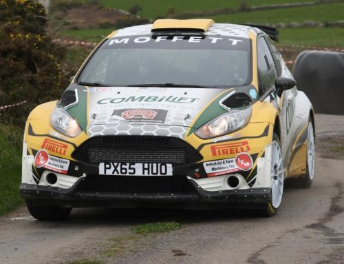 Sam Moffett top #ITRC runner at midway point of West Cork Rally